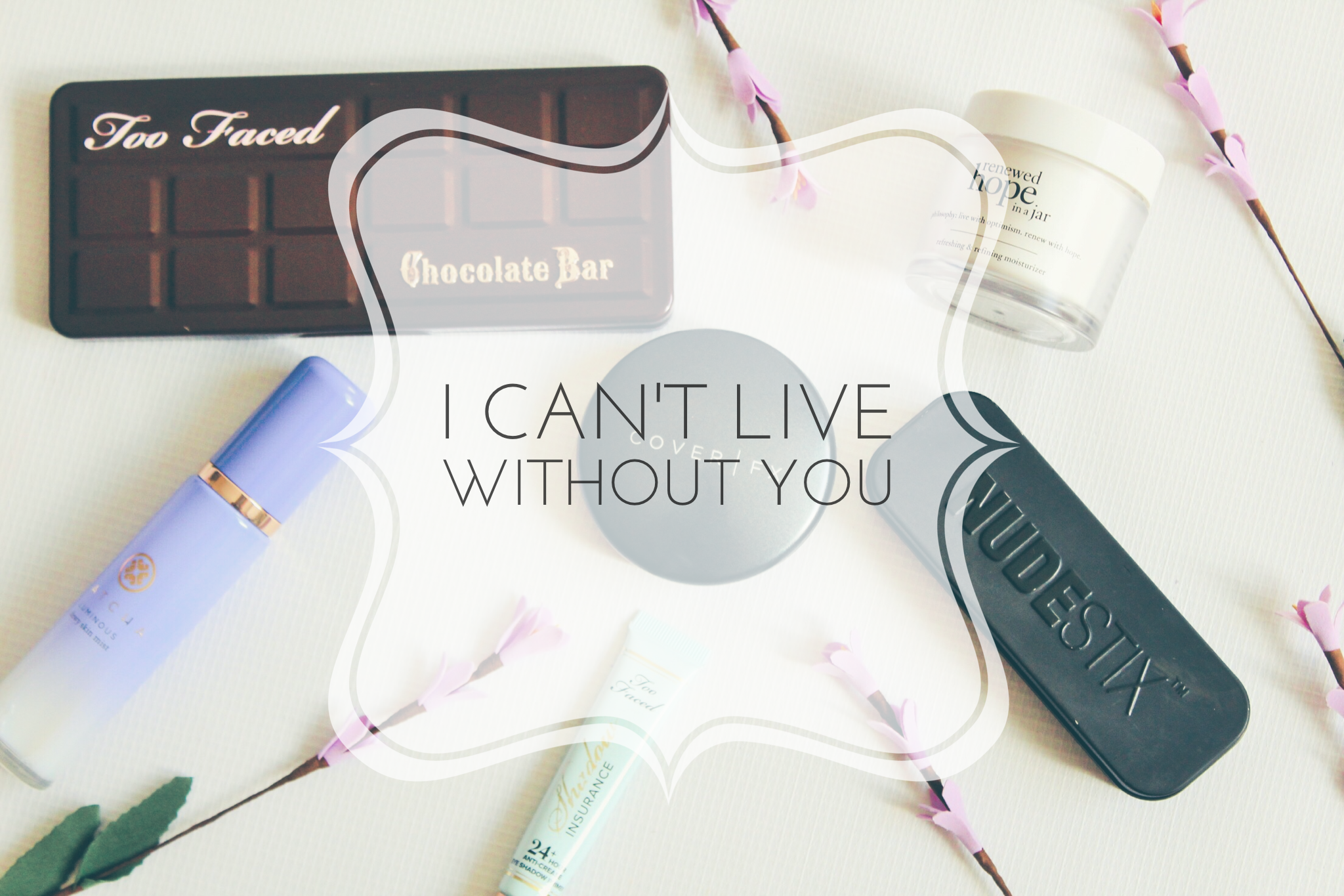 Do you have some serious can't live without beauty products?