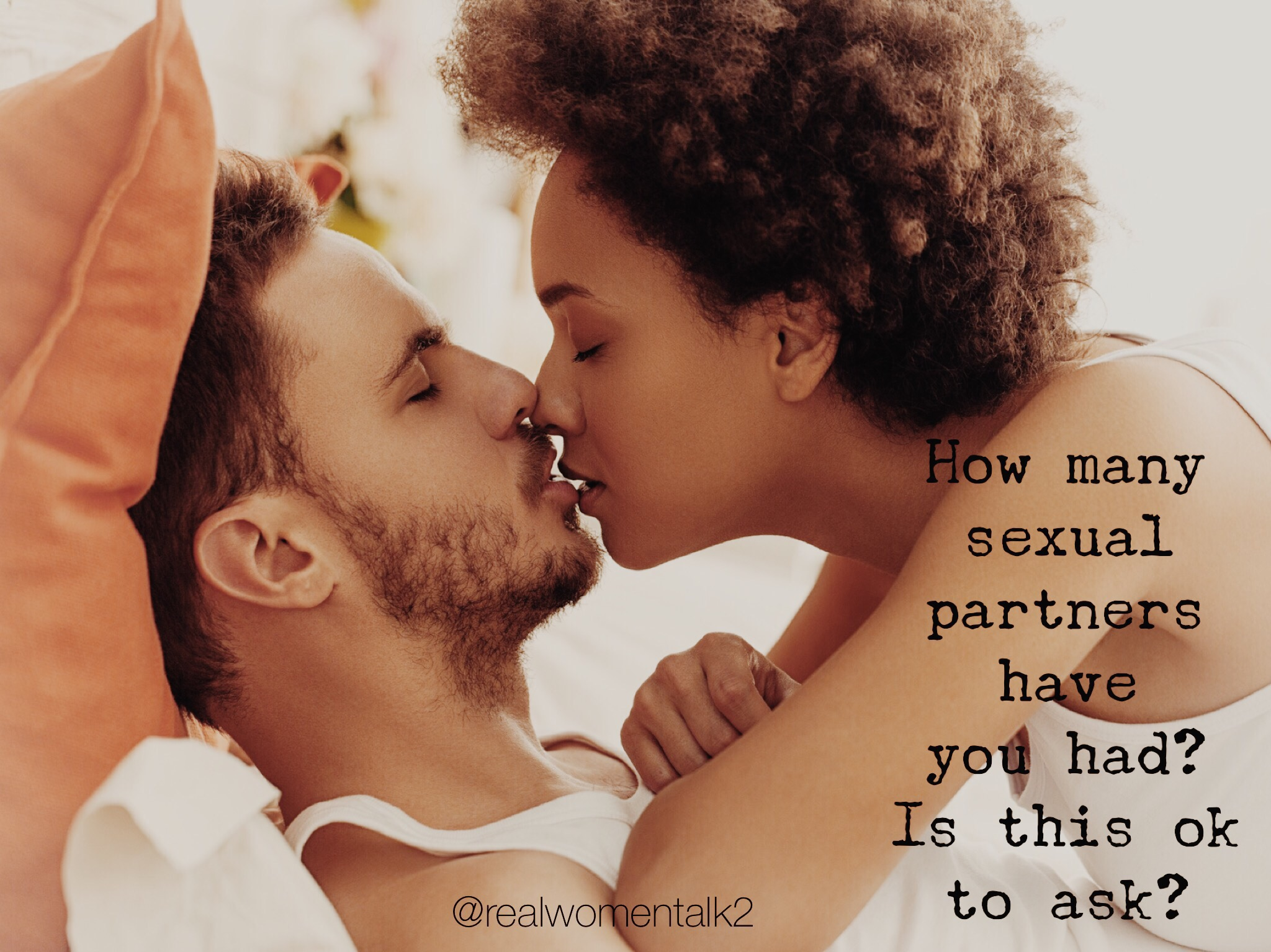 How many sexual partners have you had? Is this ok to ask?