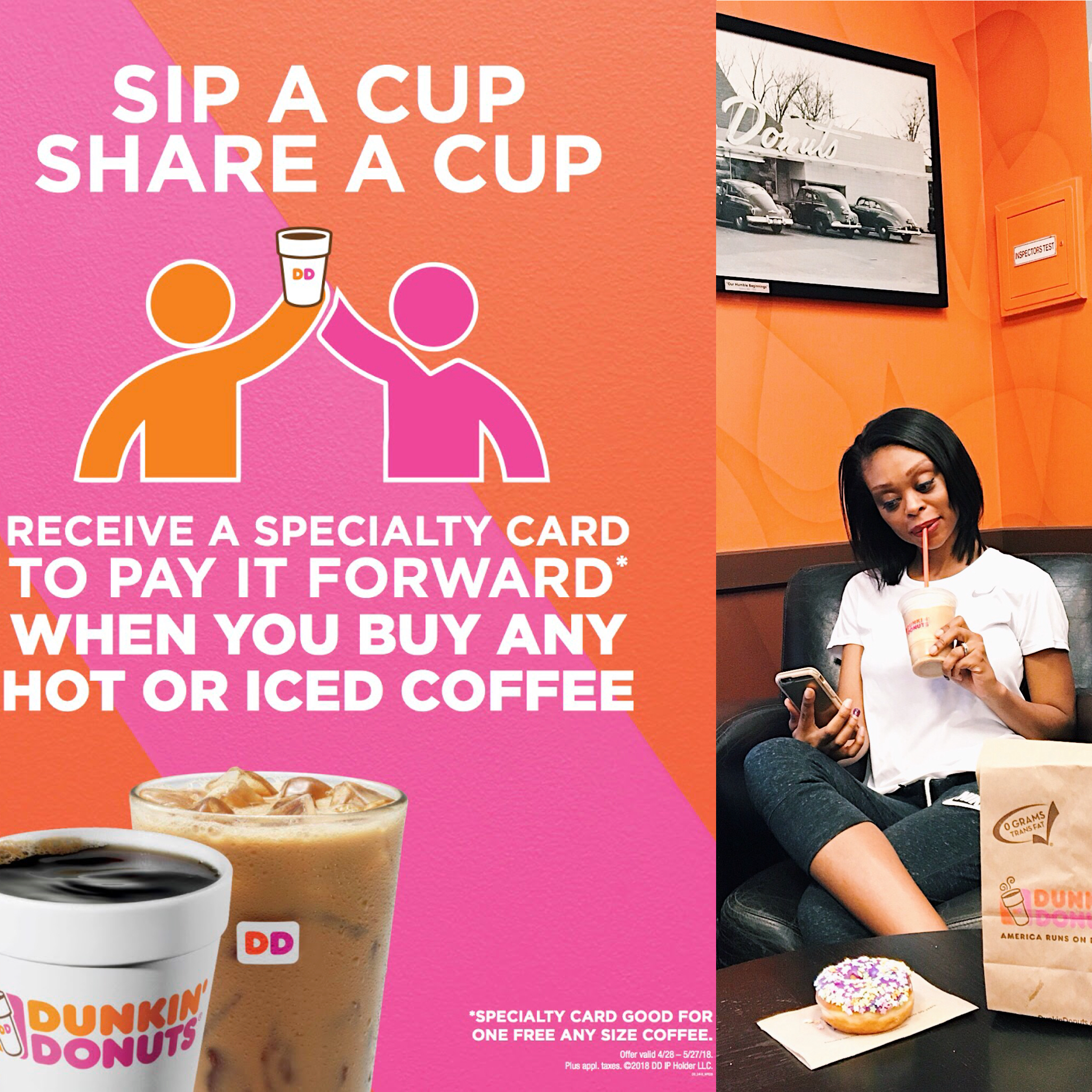 Dunkin' Donuts: Pay It Forward