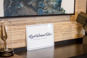 Real Women Talk 2 logo on a SmartSign